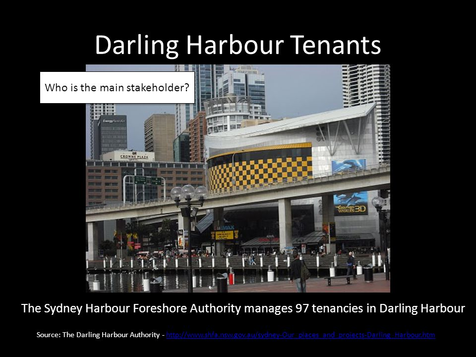 Darling Harbour Tenants