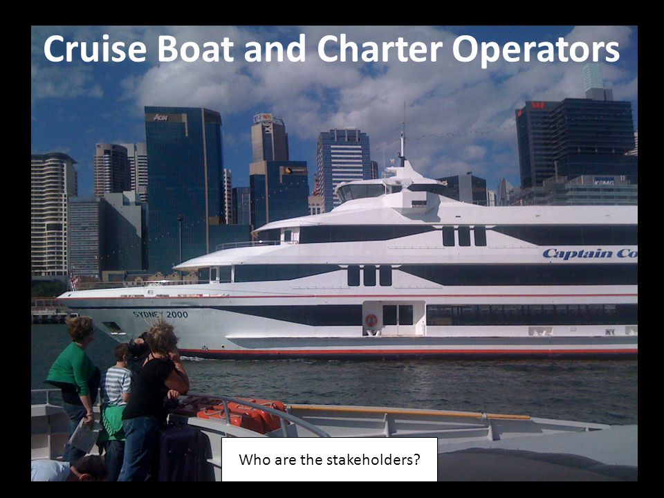 Cruise Boat and Charter Operators