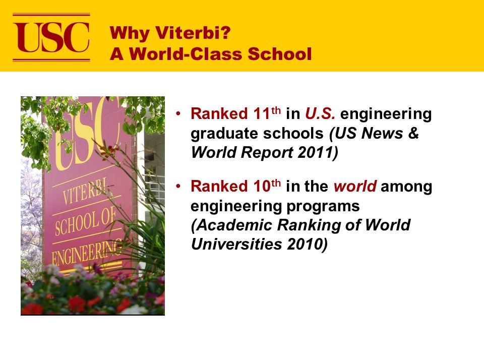 Why Viterbi A World-Class School