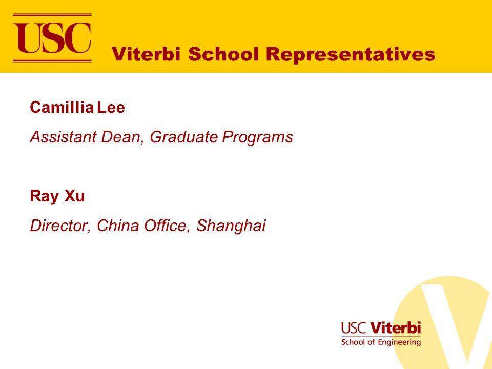 Viterbi School Representatives