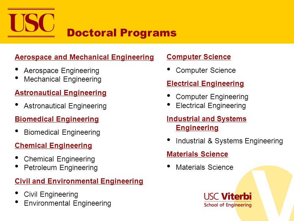 Doctoral Programs Aerospace and Mechanical Engineering