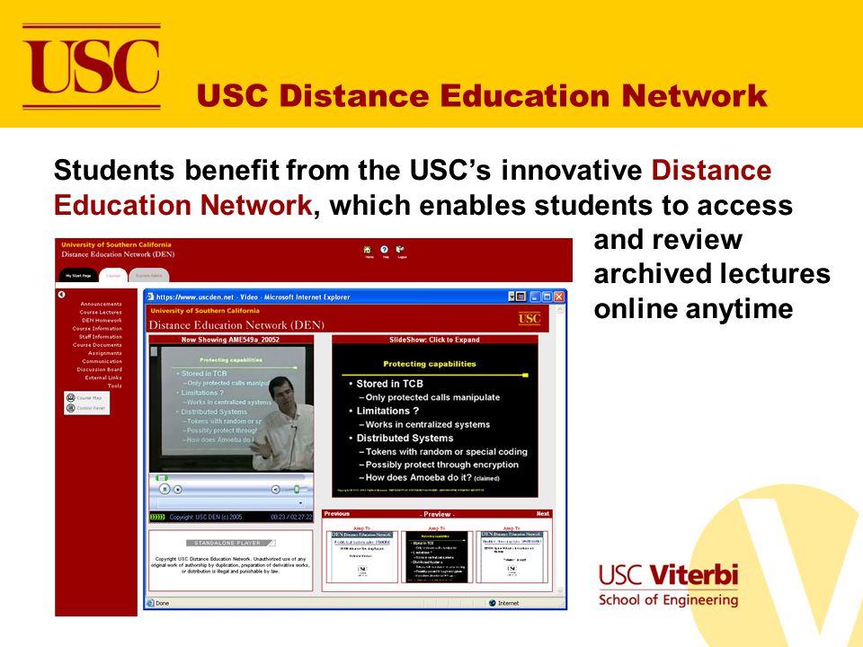 USC Distance Education Network
