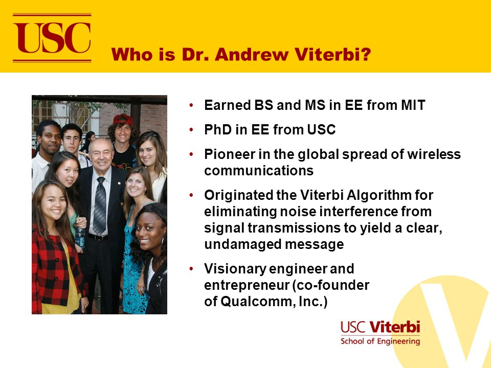 Who is Dr. Andrew Viterbi