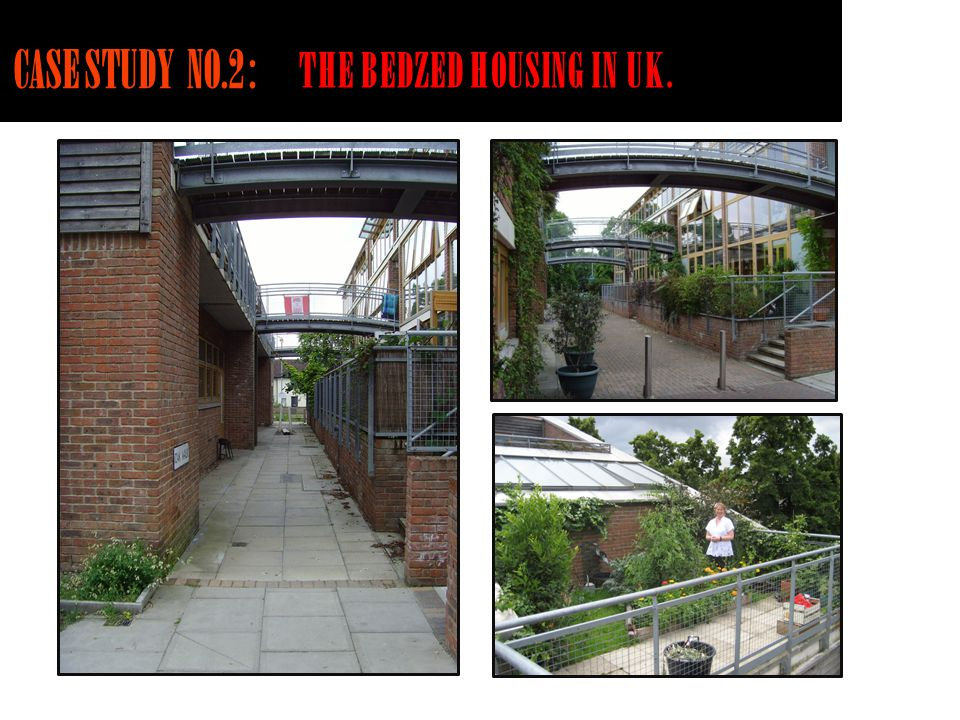 THE BEDZED HOUSING IN UK.