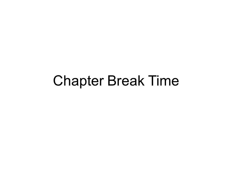Chapter Break Time