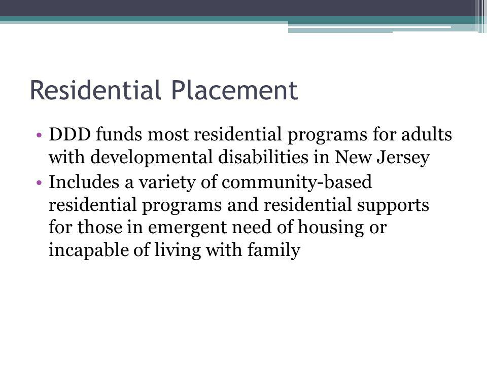Residential Placement