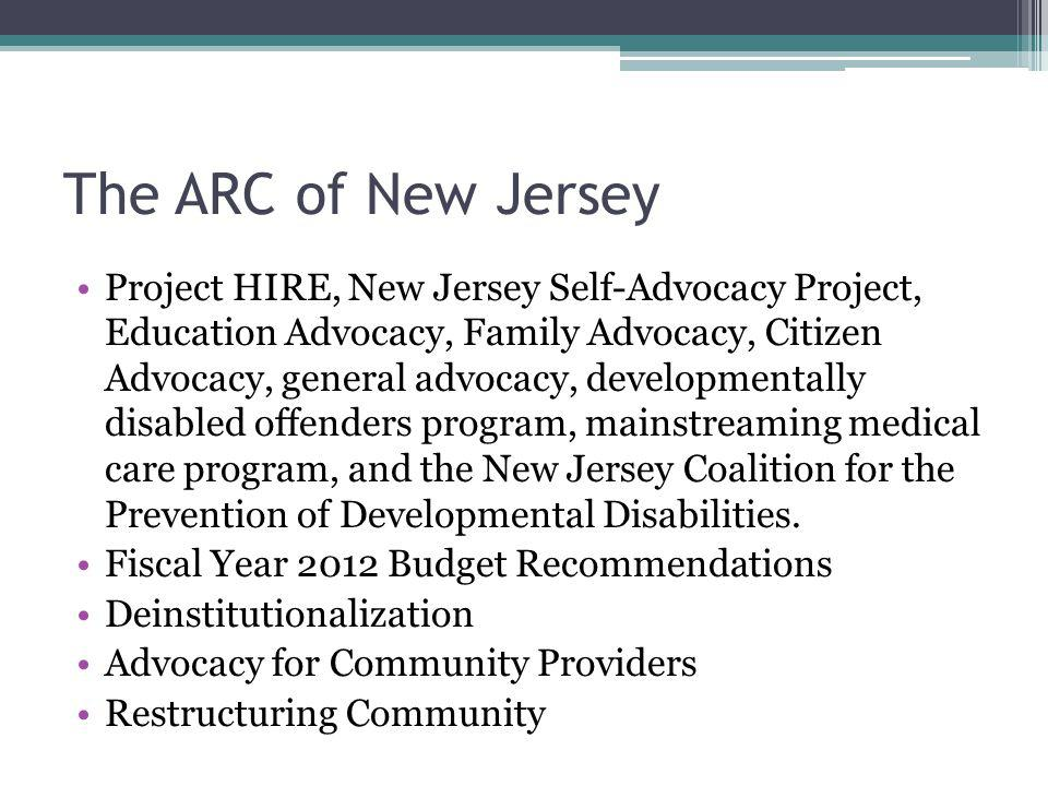 The ARC of New Jersey