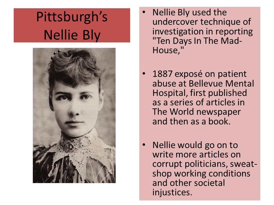 Pittsburgh's Nellie Bly