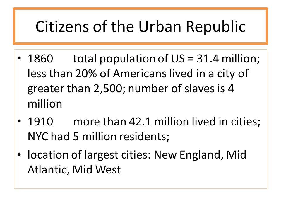 Citizens of the Urban Republic