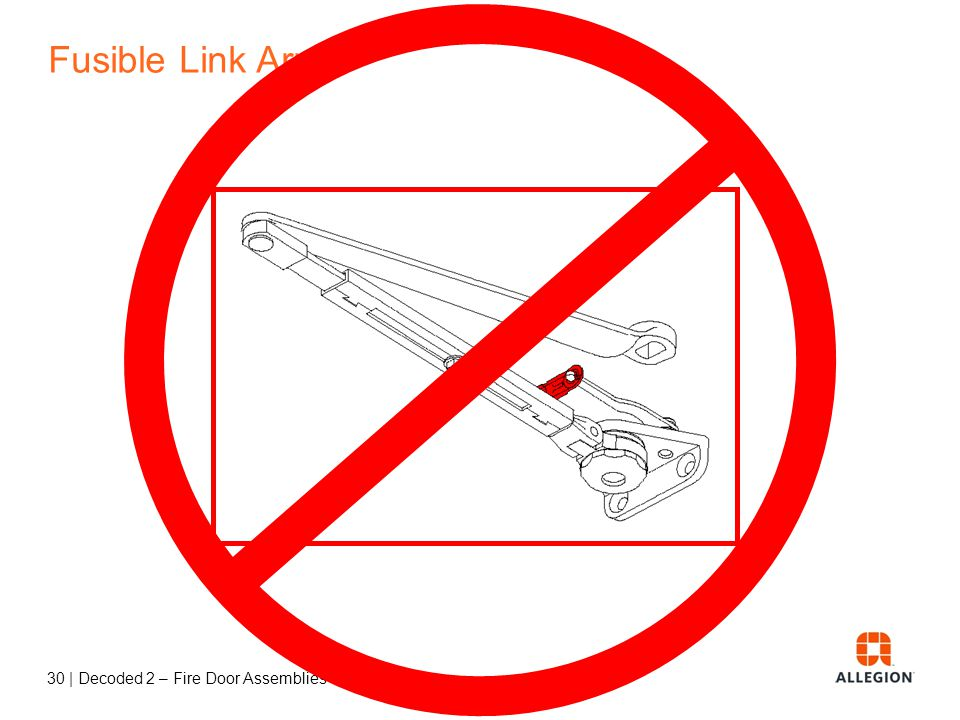 Fusible Link Arms