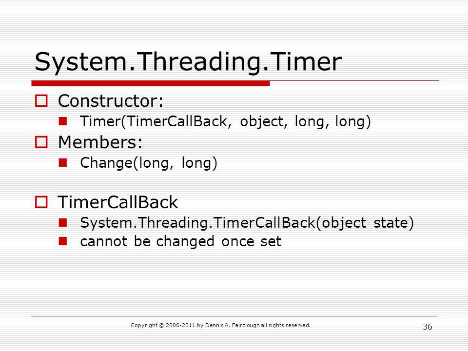 System.Threading.Timer