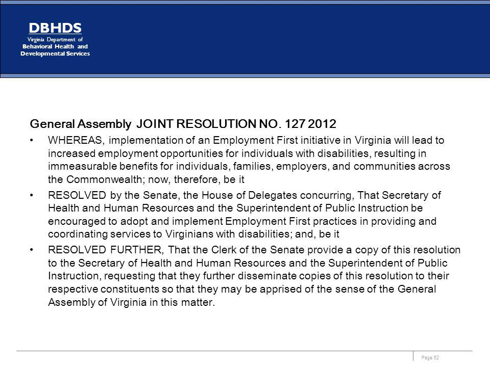 General Assembly JOINT RESOLUTION NO. 127 2012