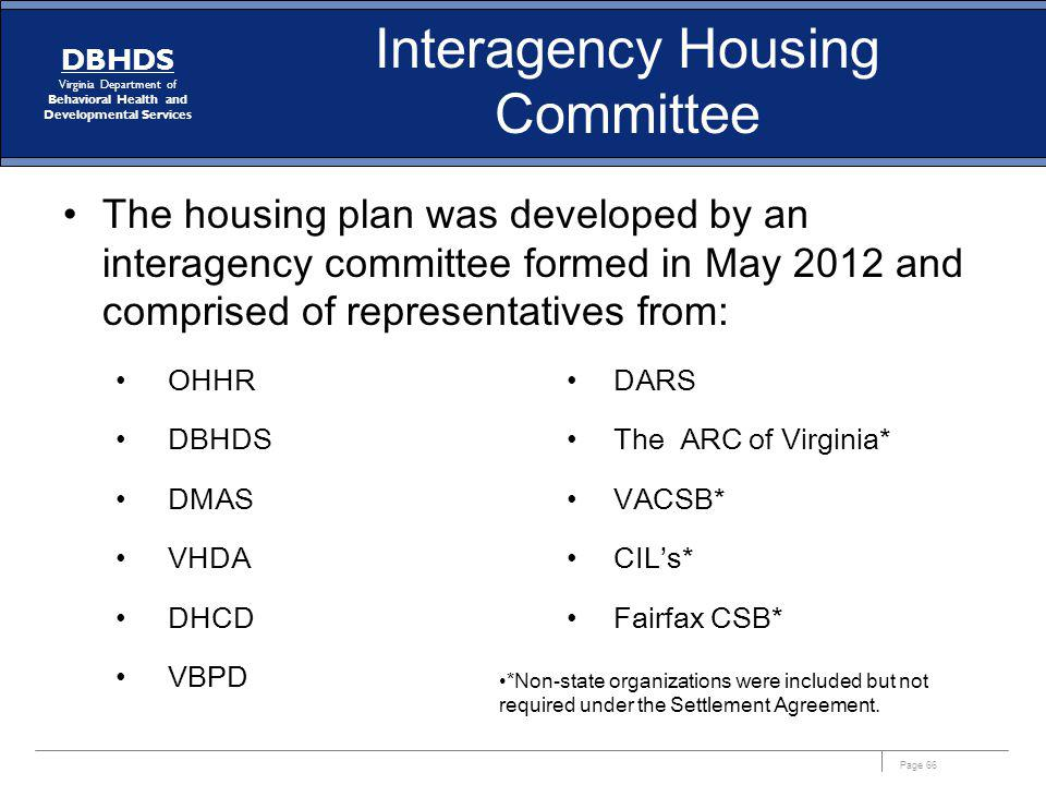 Interagency Housing Committee