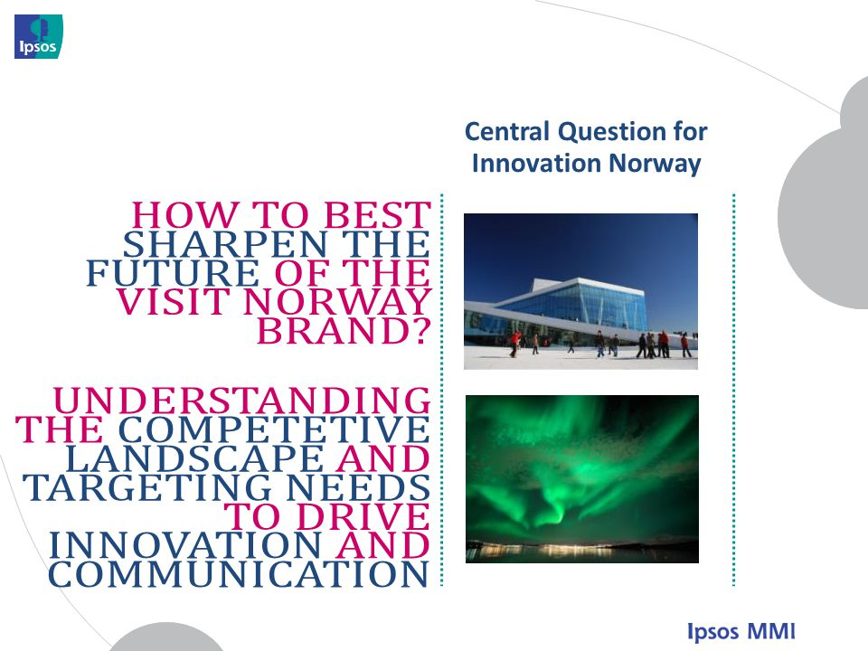 Central Question for Innovation Norway