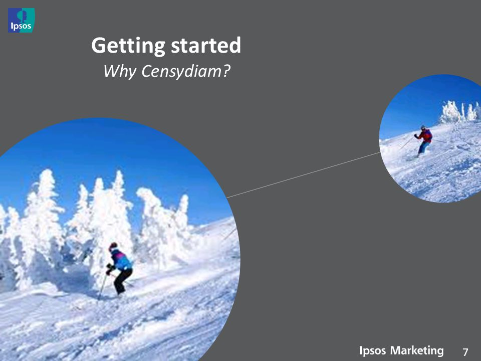 Getting started Why Censydiam