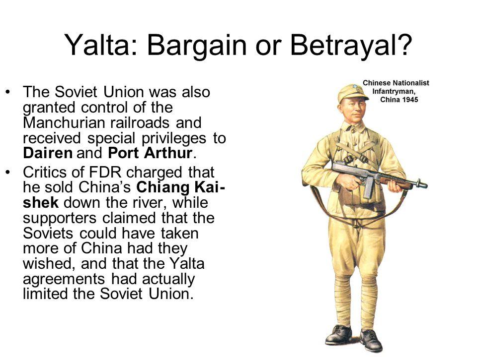 Yalta: Bargain or Betrayal