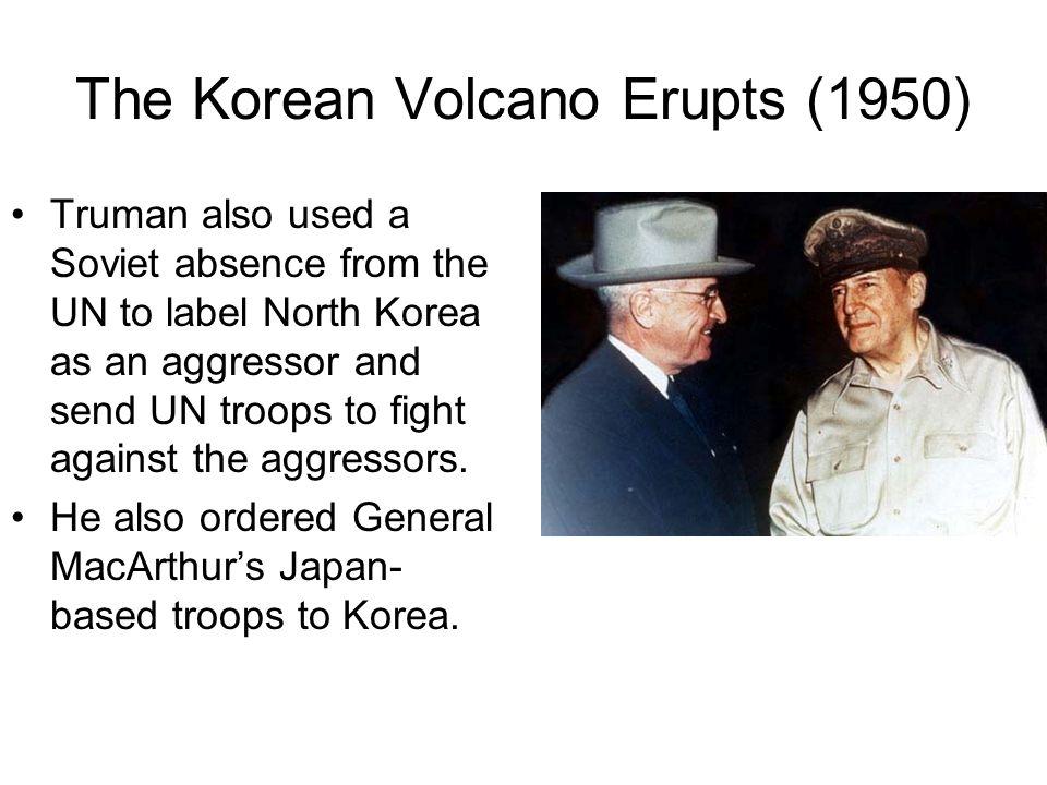 The Korean Volcano Erupts (1950)