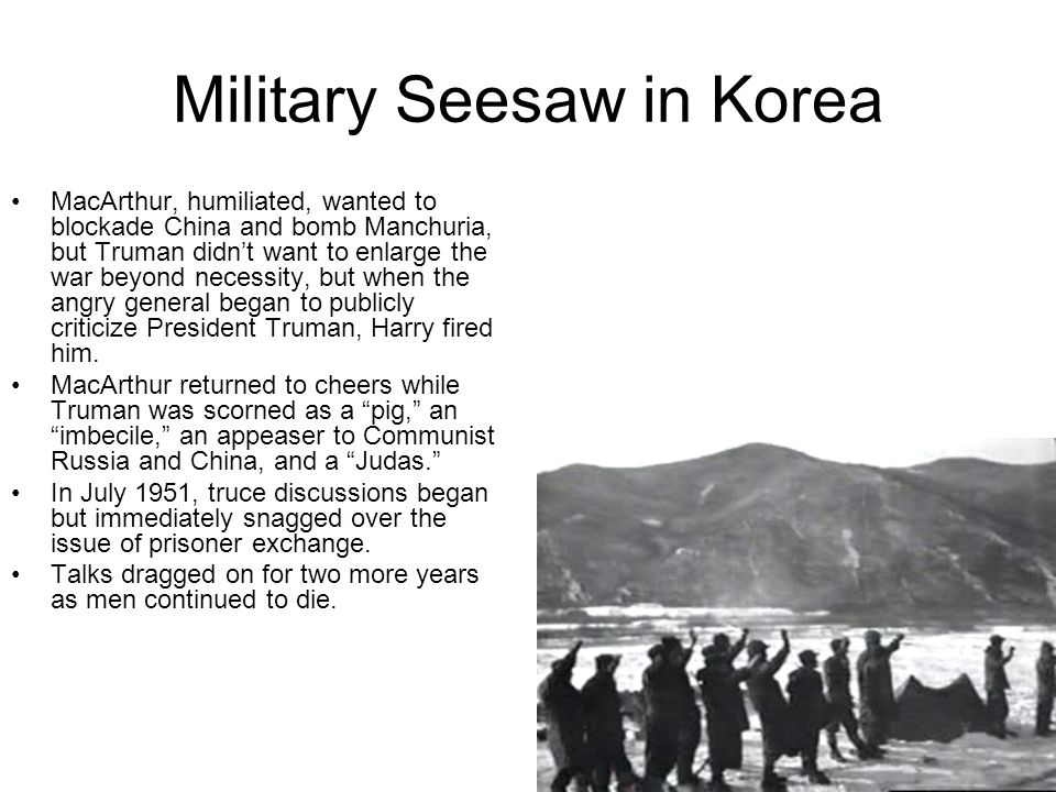 Military Seesaw in Korea
