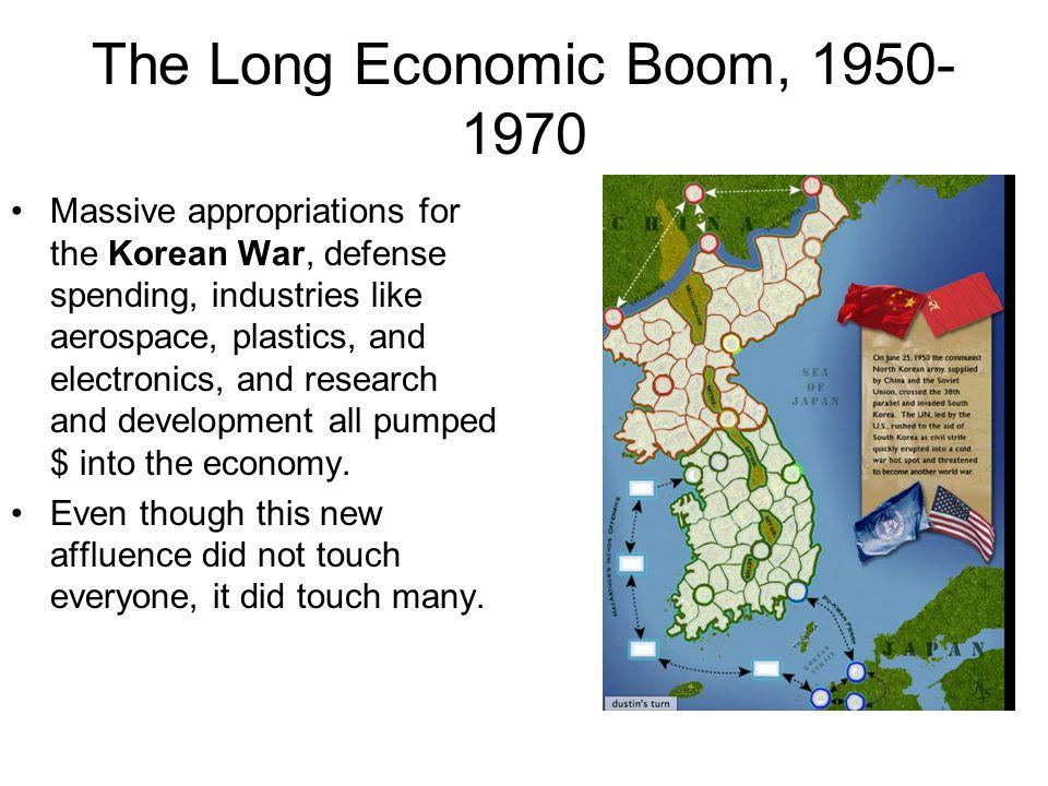 The Long Economic Boom, 1950-1970