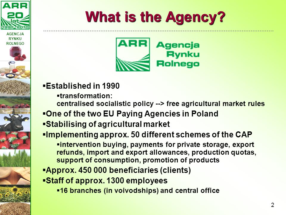 What is the Agency Established in 1990
