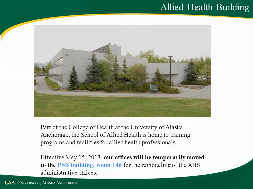 Allied Health Building