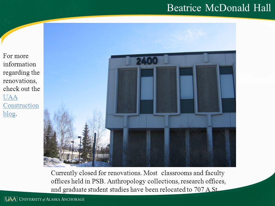 Beatrice McDonald Hall