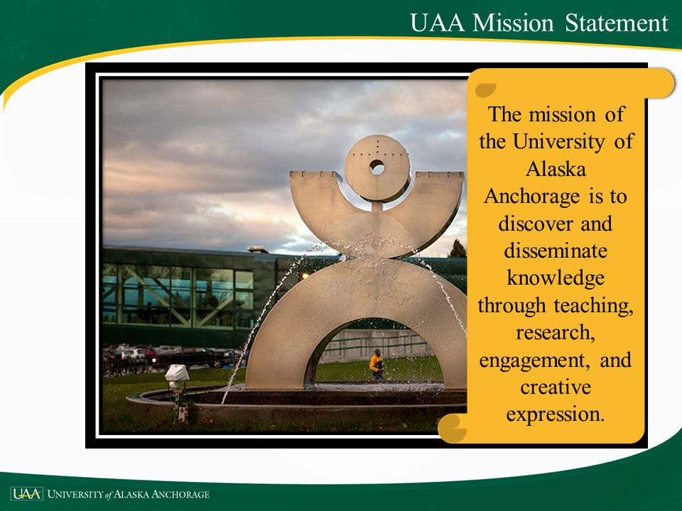 UAA Mission Statement