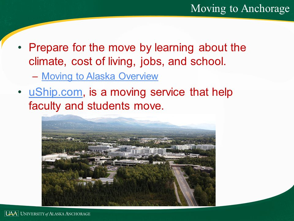 uShip.com, is a moving service that help faculty and students move.