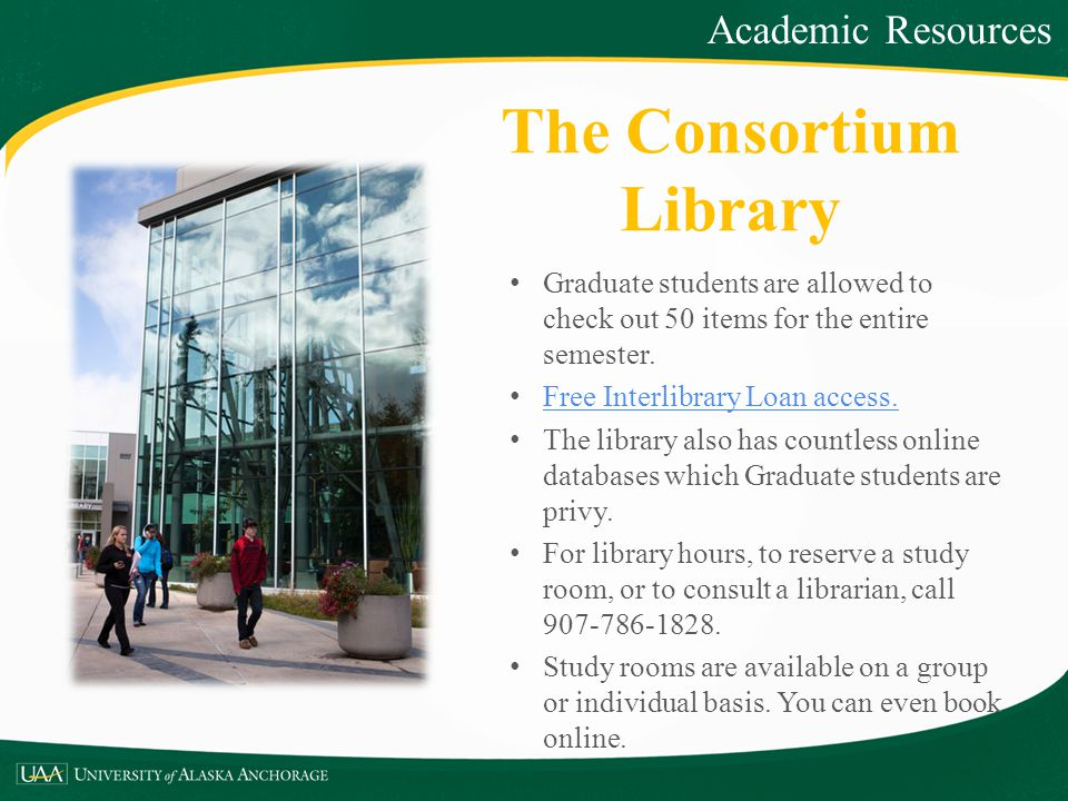 The Consortium Library