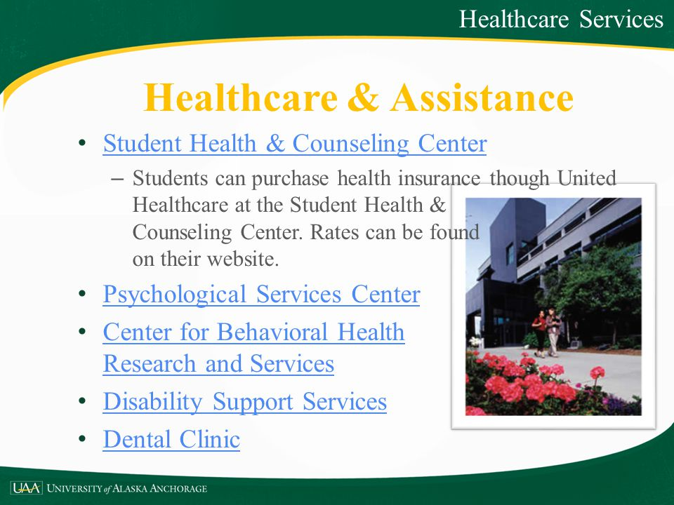 Healthcare & Assistance