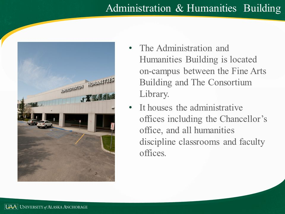 Administration & Humanities Building
