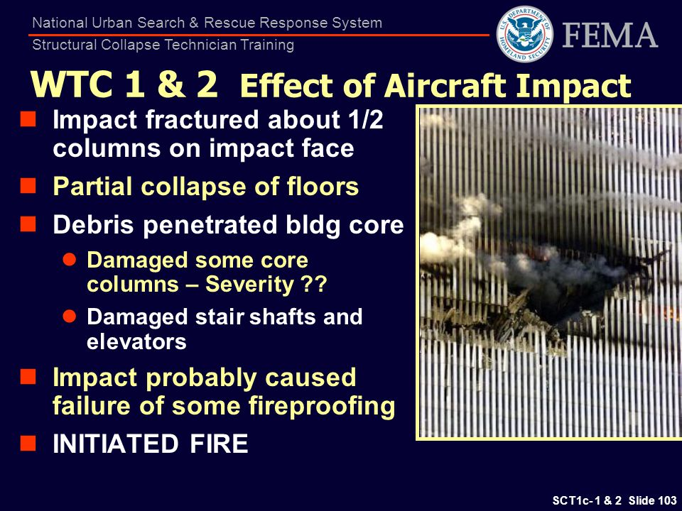 WTC 1 & 2 Effect of Aircraft Impact