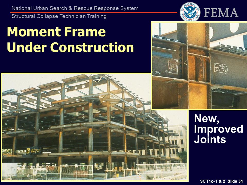 Moment Frame Under Construction