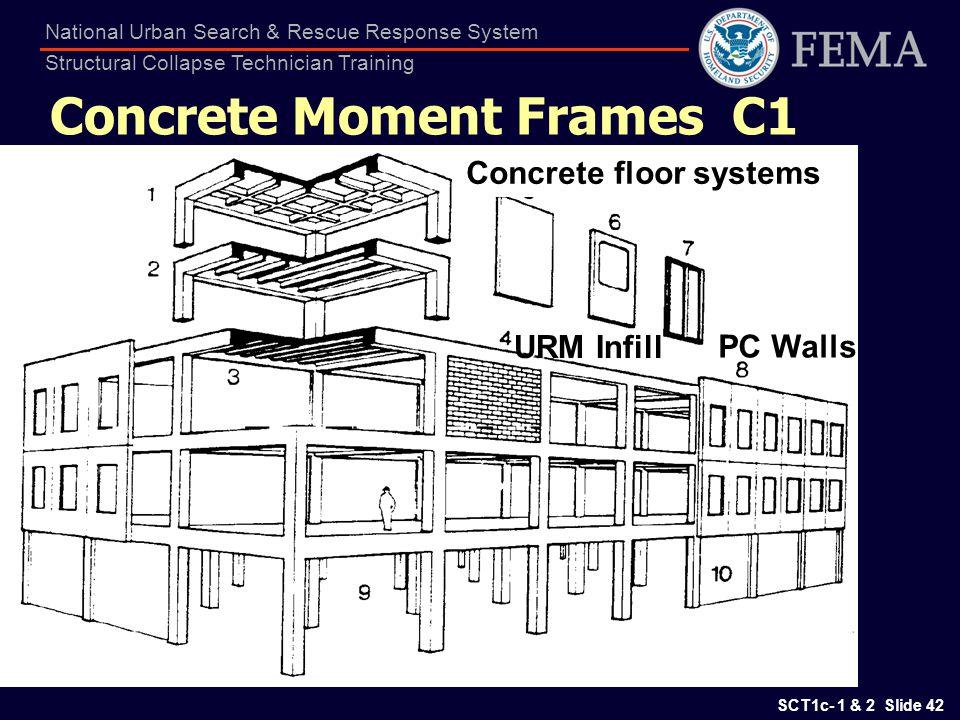 Concrete Moment Frames C1