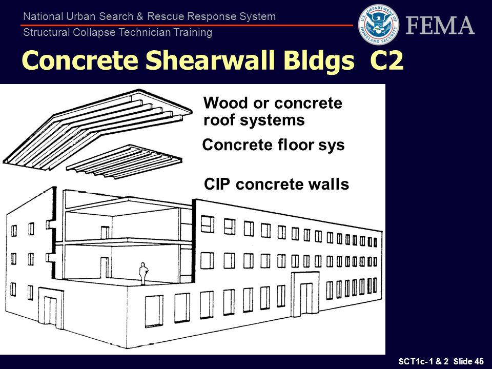 Concrete Shearwall Bldgs C2