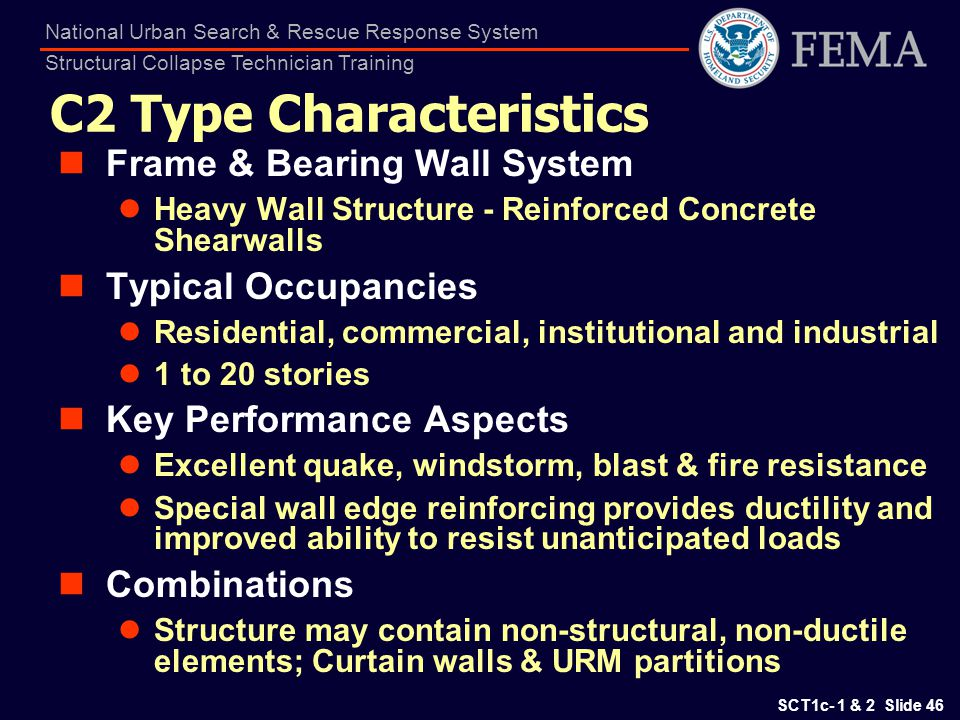 C2 Type Characteristics