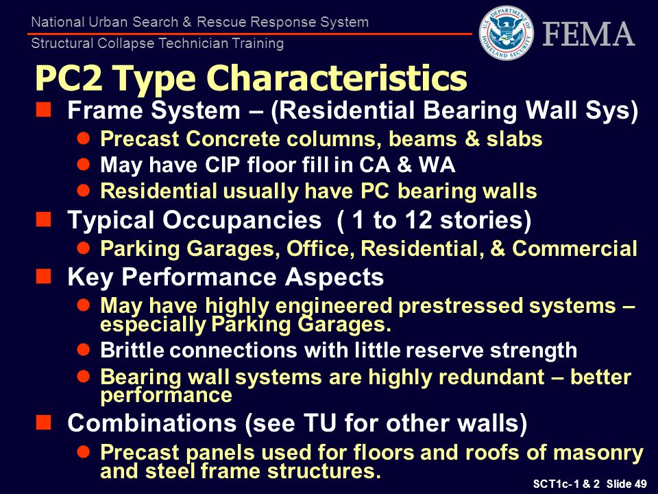 PC2 Type Characteristics