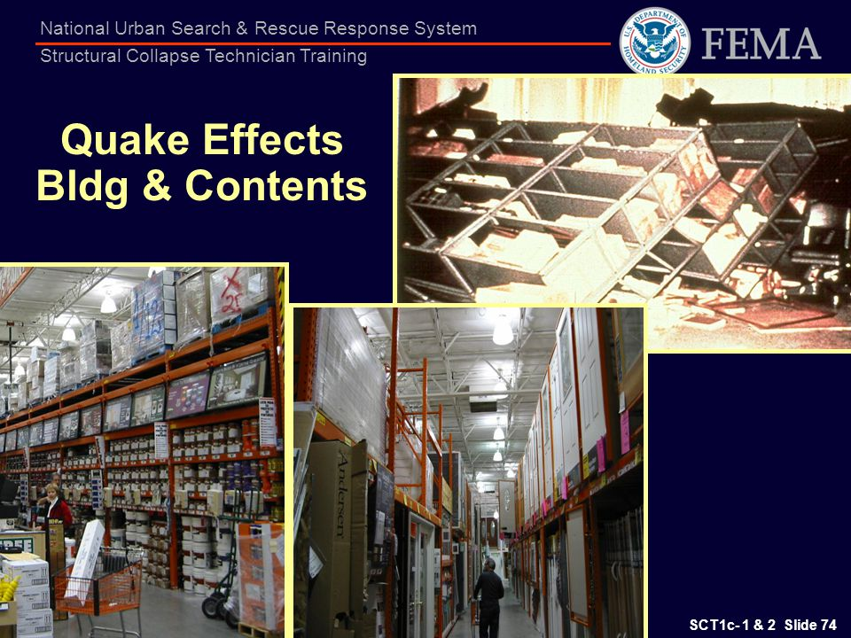 Quake Effects Bldg & Contents