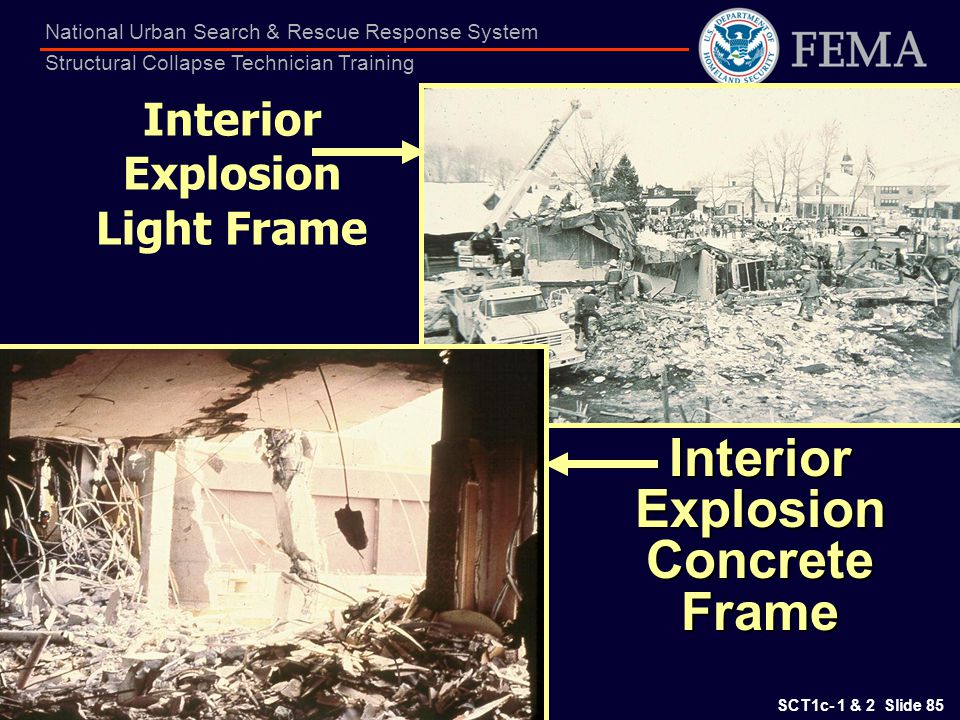 Interior Explosion Light Frame