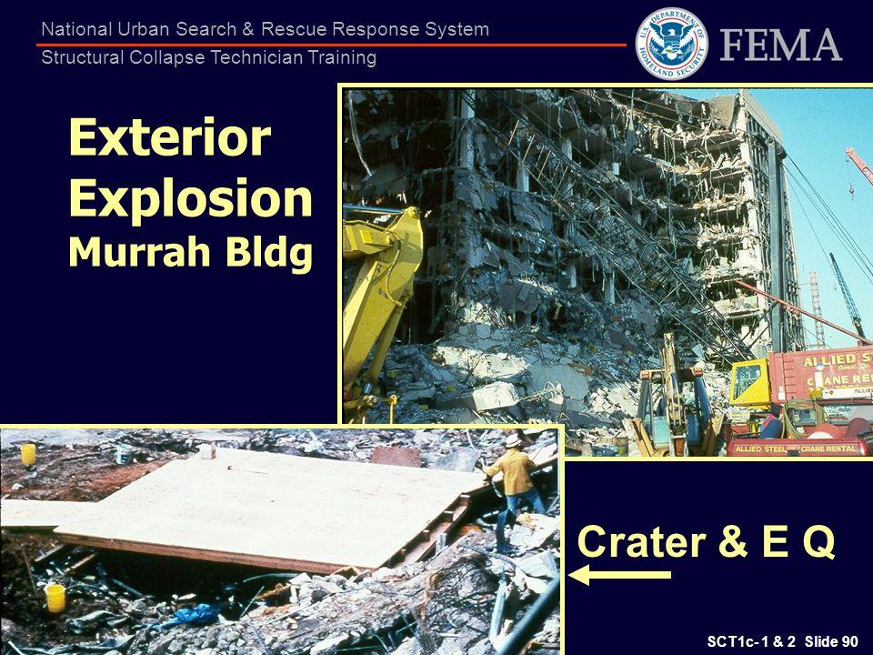 Exterior Explosion Murrah Bldg
