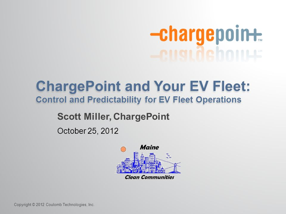 Scott Miller, ChargePoint