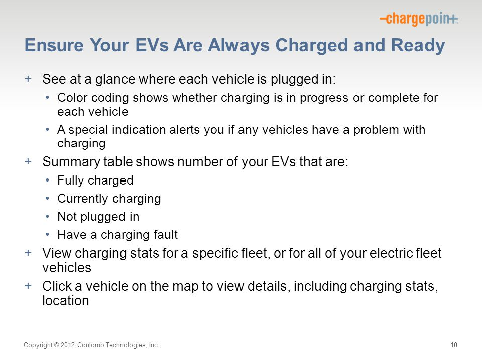 Ensure Your EVs Are Always Charged and Ready