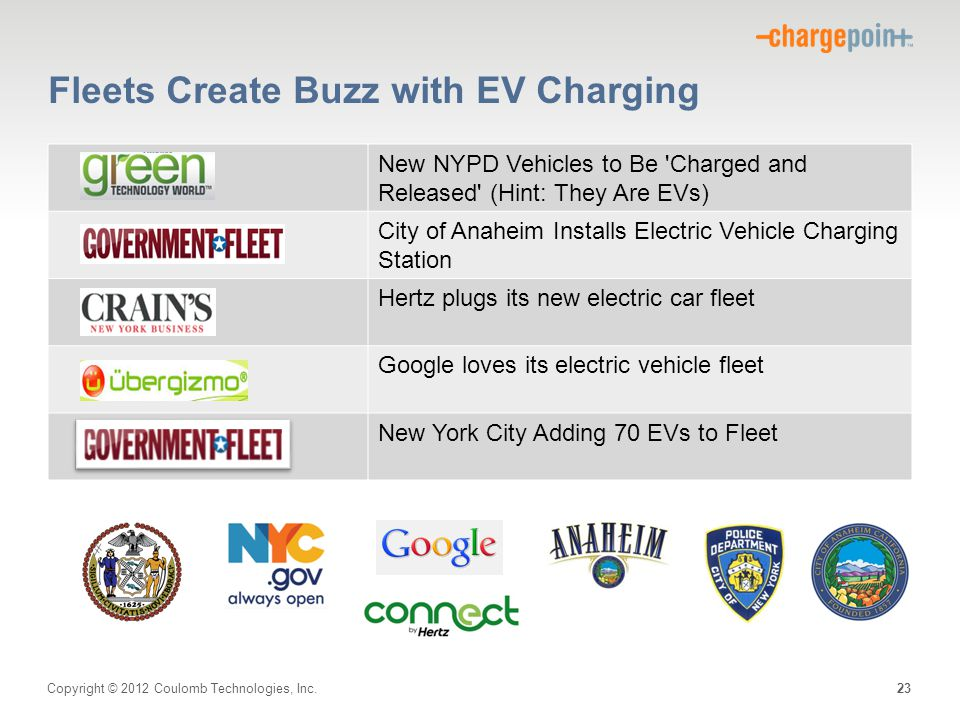 Fleets Create Buzz with EV Charging