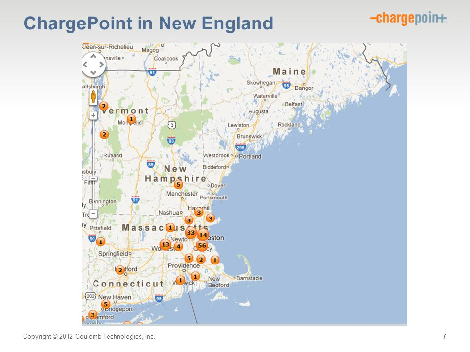 ChargePoint in New England