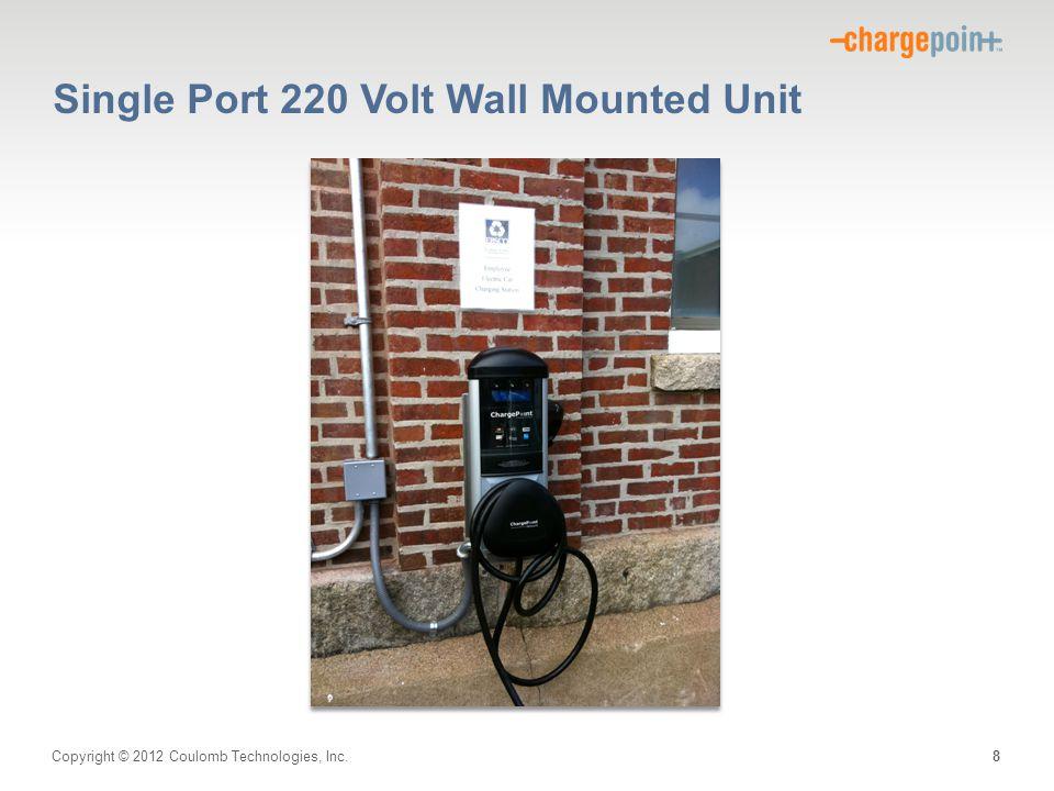 Single Port 220 Volt Wall Mounted Unit