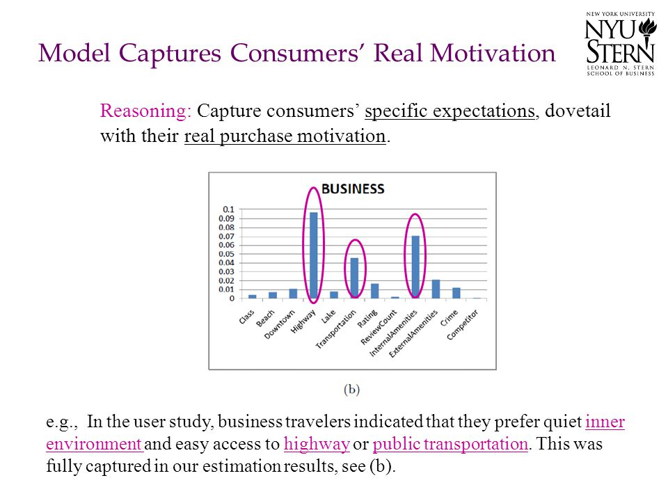 Model Captures Consumers' Real Motivation