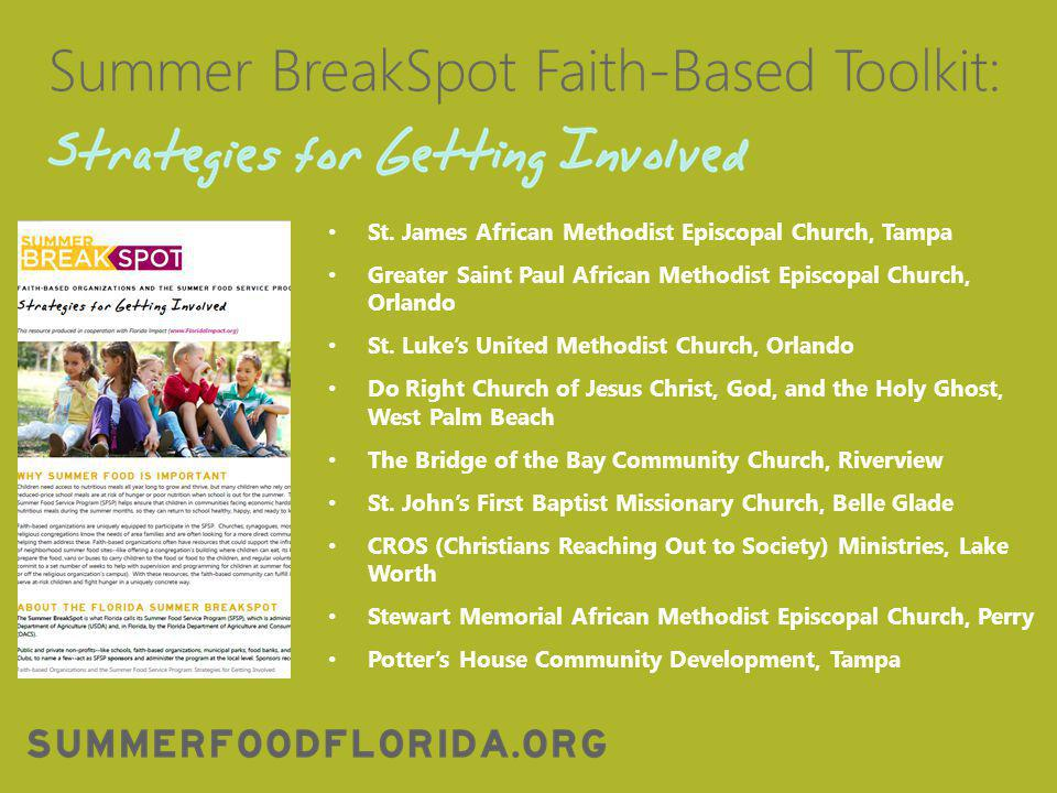 FAITH-BASED TOOLKIT PREVIEW