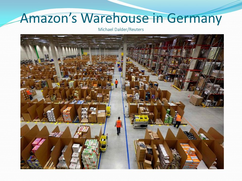 Amazon's Warehouse in Germany Michael Dalder/Reuters