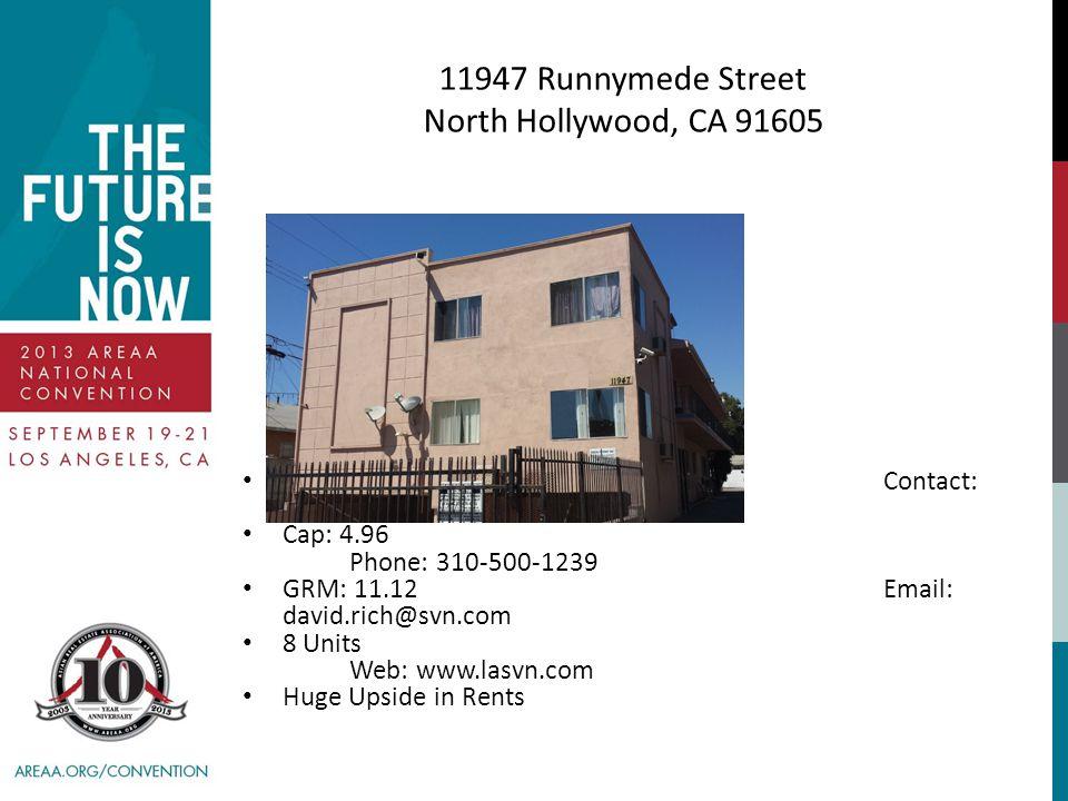 11947 Runnymede Street North Hollywood, CA 91605