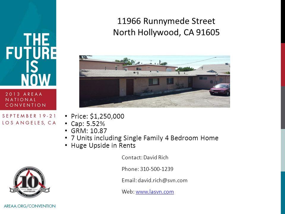 11966 Runnymede Street North Hollywood, CA 91605